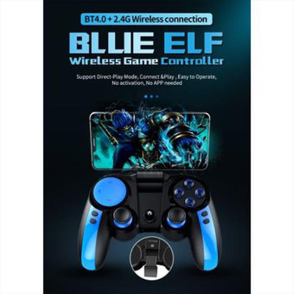 GAMEPAD CONTROL PARA CELULAR JUEGOS ANDROID IOS IPEGA BLUE ELF PG-9090 BLUETOOTH FORNITE PUGB GAMER JOYSTIC